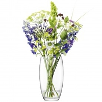 <br><Br>LSA Flower Barrel Bouquet Vase Clear LFW31<br>【フラワーベース 花器 花瓶 花びん 花材 資材 ガラス雑貨】