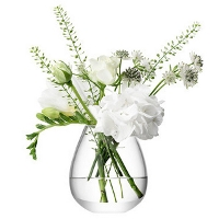 <br><Br>LSA Flower Mini Table Vase Clear TLA2225<br>【フラワーベース 花器 花瓶 花びん 花材 資材 ガラス雑貨】